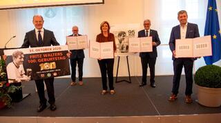 Zum 100. Geburtstag: Fritz Walter bekommt eigene Briefmarke