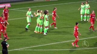 Highlights: VfL Wolfsburg vs.  SC Sand