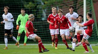 U 16-Junioren unterliegen Dänemark im ersten Test