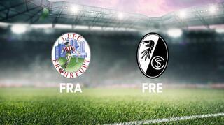 Highlights: Eintracht Frankfurt vs. SC Freiburg