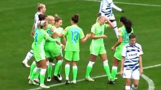 Highlights: VfL Wolfsburg vs.  MSV Duisburg