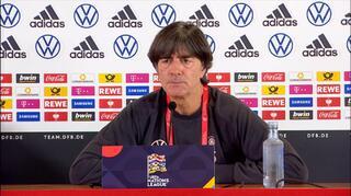 DFB Pressekonferenz zum Länderspiel gegen Spanien