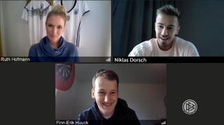 Digitaler Fan-tastic Moment mit Niklas Dorsch