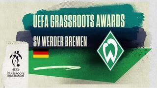 UEFA Grassroots Awards 2020: Werder Bremen ausgezeichnet