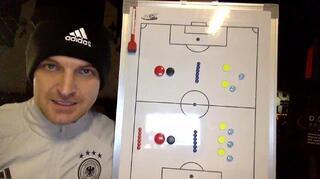 Video: Digitales Live-Training mit DFB-Trainer Meister