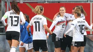 6:0 gegen Griechenland  - Siebter Sieg im siebten EM-Qualifikationsspiel