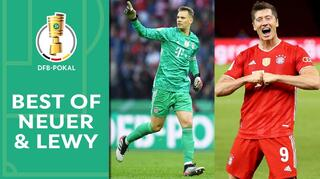 Neuer and Lewandowski: The Best in the DFB-Pokal