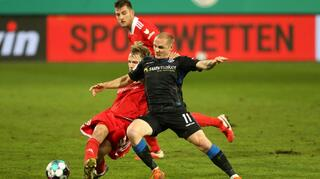 DFB Cup Men: 1. FC Union Berlin vs SC Paderborn 07