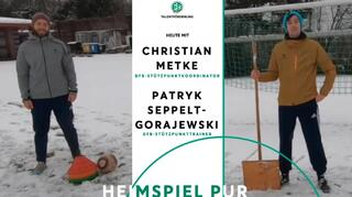 Movember: Training im Lockdown mit Christian Metke und Patryk Seppelt-Gorajewski