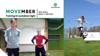 Movember - Training im Lockdown mit Silke Rottenberg, Jan Schröder und Lisa Bayer