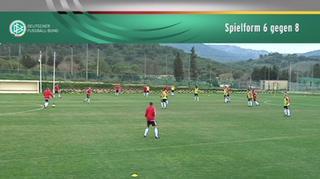 DFB U 17-Junioren: Spielform 6 gegen 8