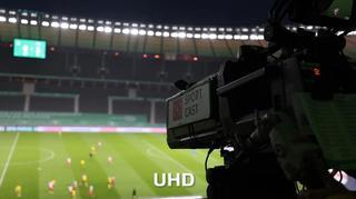 TV-Produktion beim DFB-Pokalfinale