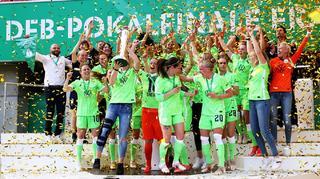 VfL Wolfsburg zum 7. Mal in Serie Pokalsieger