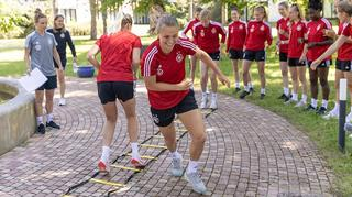 DFB-Frauen: Gartenolympiade