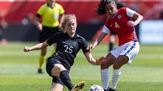 DFB-Frauen: Torloses Remis gegen Chile