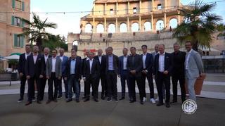 Klassentreffen der Europameister von 1996 im Europapark Rust
