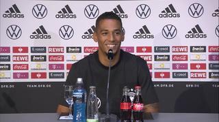 DFB Pressekonferenz in Hamburg