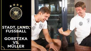 Stadt, Land, Fußball: Leon Goretzka vs. Thomas Müller