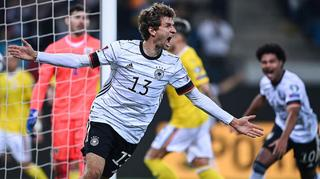 Müller strikes late to secure come-from-behind win over Romania