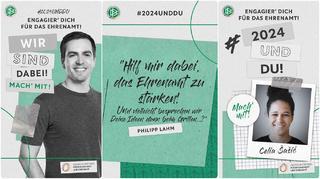 Sasic und Lahm starten Initiative #2024undDu