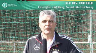 DFB U 15-Junioren: Philosophie, Ausbildung, Persönlichkeitsförderung