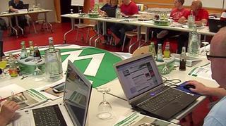DFB-Pilotlehrgang für Staffelleiter