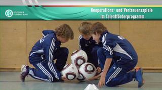 Kooperations- und Vertrauensspiele im Talentförderprogramm