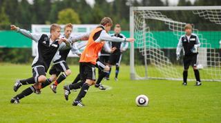 4-gegen-4-Variationen im Talentförderprogramm
