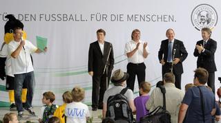 Auftakt für Sepp-Herberger-Tage mit Otto Rehhagel in Mannheim