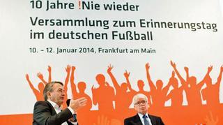 !Nie wieder – 10. Erinnerungstag im Fußball