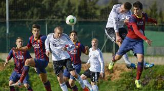 U 17-Junioren vs. Juniorenauswahl des FC Barcelona