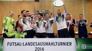 Hamburg gewinnt den Futsal-Länderpokal