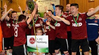 1. FC Nürnberg gewinnt B-Junioren Futsal-Cup
