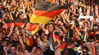Fanmeile Berlin beim Finale