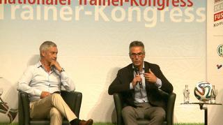 Podiumsdiskussion beim Internationalen Trainerkongress in Mannheim