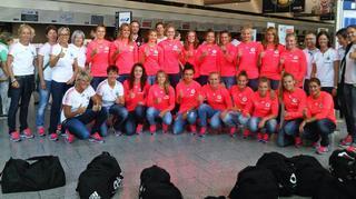 U 20-Frauen:  Anreise zur WM nach Kanada