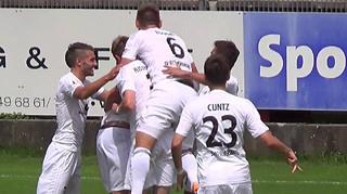 Regionalliga Südwest: Torshow vom 1. Spieltag