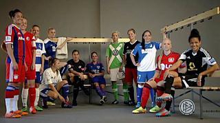 Impressionen vom Marketing-Tag der Allianz Frauen-Bundesliga am 10.08. in München