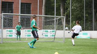 Riesen-Fußballtennis-Rundlauf