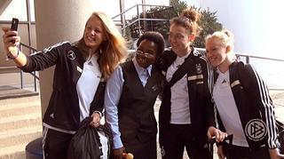 U 20-Frauen: Anreise zum WM-Halbfinale nach Montreal