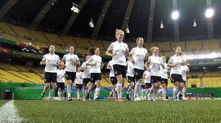 U 20-Frauen: Abschlusstraining vor WM-Finale