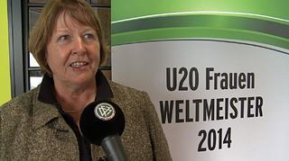 Hannelore Ratzeburg zur U 20-WM