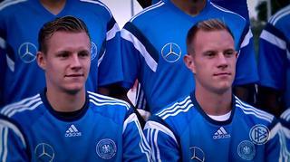Die Torhüter der U 21: Bernd Leno und Marc-Andre ter Stegen