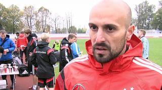 U 19-Junioren: Interview mit Co-Trainer Toni di Salvo