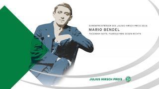 Julius Hirsch Preis 2014: Ehrenpreis für Mario Bendel
