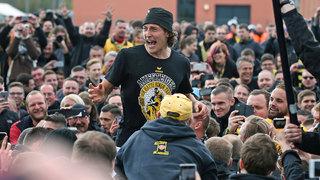 Dresden feiert die Rückkehr in die 2. Bundesliga