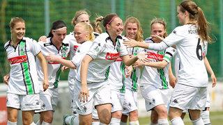 Mönchengladbach steigt in die Allianz Frauen-Bundesliga auf