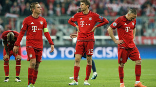 Bayern scheitert im Halbfinale
