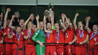 U 17-Juniorinnen zum fünften Mal Europameister