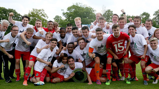 Hannover 96 gewinnt den DFB-Junioren-Vereinspokal 2016
